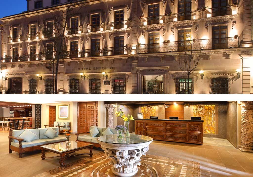 fachada_lobby_Hotel_Emporio_Zacatecas